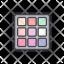 Makeup Palette Icon