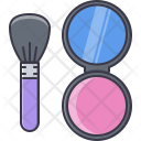 Mirror Puff Box Icon