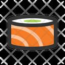 Maki Sushi Seafood Icon