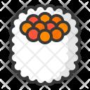 California Maki Sushi Icon