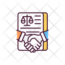 Making Legal Deal Icon