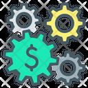 Making Money Gear Cogwheel Icon