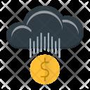 Cloud Money Making Icon