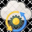 Making Money Cloud Bitcoin Cloud Money Icon