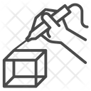 Making Shape Shape Creation Cube Creation Icon