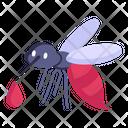 Mosquito Infection Malaria Icon