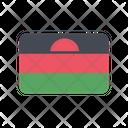 Malawi Flag Country Icon