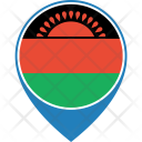 Malawi Flag World Icon