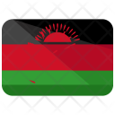 Malawi Flag Country Icon