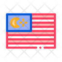 Flag Malaysia National Icon