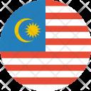 Malaysia Flag World Icon