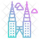 Malaysia Petronas Twin Icon