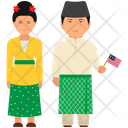 Malaysian Outfit Malaysian Clothing Malaysian Dress Icon