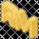 Malaysian Ringgit Ringgit Symbol Singgit Sign Icon
