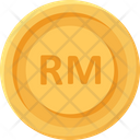 Malaysian Ringgit Coin Coins Currency Icon