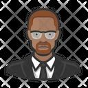 Malcolm Civil Rights Icon