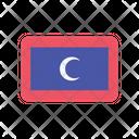 Maldives Flag Country Icon