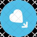 Male Heart Love Icon