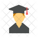 Male Student Degree Icon