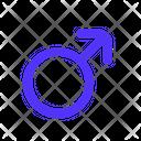 Male Sex Gender Icon