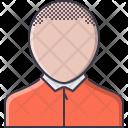 Barbershop Male Short Icon
