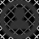 Male Account Icon
