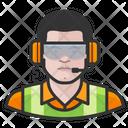 Male Airport Crew Airport Crew Icon