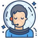 Male Astronaut Icon