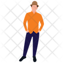 Male Avatar Male Person Human Icon