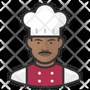 Male Black Chef Male Black Icon