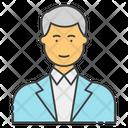Male Businessman Icon