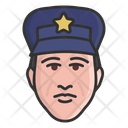 Police Officer Policeman Male Cop Icon