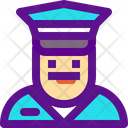 Cop Male Icon