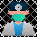 Male Dentist Doctor Profession Icon