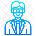 Male Doctor Doctor Lab Icon