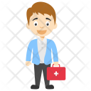 Male Doctor Kids Icon