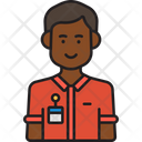 Male Employee Icon