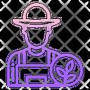 Male Farmer Icon