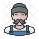 Male Fisher Icon