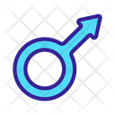 Male Gender Symbol Icon