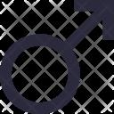 Male Gender Symbol Icon