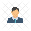 Male Head Man Character Icon