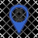 Male Location Icon