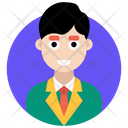Male Manager Administrator Supervisor Icon