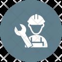 Mechanic Male Avatar Icon