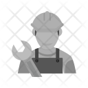 Male Mechanic Icon