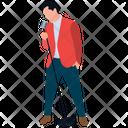 Male Musician Icon
