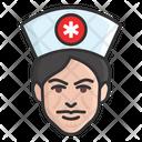 Male Nurse Medical Assistant Nurse Icon