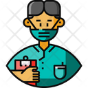 Male Nurse Avatar Frontliner Icon
