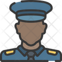 Male police officer Icon
